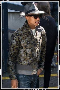 pharrell williams floral suit - Google Search