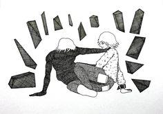 いいね!65件、コメント1件 ― ウエダ ツバサさん(@tsubasa_ueda1111)のInstagramアカウント: 「#イラスト #アート #illust #illustration #art #artwork #drawing #draw #pendrawing #pencil」