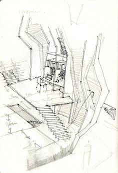 bartlett year 1 architecture vasilis, sketch patrick weber year 1 director
