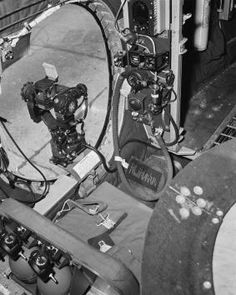 B-29.'s 4 areas of Remote Controll areas with 8-12.7mm machine guns and 2~3 12.7 mm machine guns for tail gunner. total 10~ 11 12.7mm machine guns on B-29.