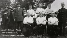 Grimsby Borough Police Tug of War team winners, 1911 Police Crime, Tug Of War, Law And Order, British History, Photo Art, Charity