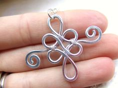 Jewelry Wire Filigree Celtic Pendant Necklace Silver Aluminum Wire Wrapped Jewelry Hammered Pendant Jewelry , via Etsy. - Filigree Celtic Pendant Necklace Silver Aluminum Wire Wrapped Jewelry Hammered Pendant Jewelry , via Etsy. Wire Necklace, Silver Pendant Necklace, Silver Necklaces, Pendant Jewelry, Silver Earrings, Jewelry Necklaces, Wire Wrapped Jewelry, Metal Jewelry, Beaded Jewelry