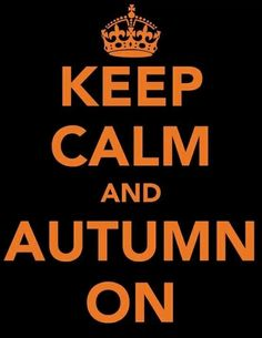 Love the fall, y'all!