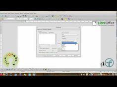 LibreOffice - etiquetas de endereçamento - YouTube