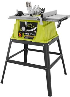 Ryobi 15-Amp 10 In. Portable Table Rip Cross Cut Saw Power Tool #RYOBITechtronicIndustriesCoLtd