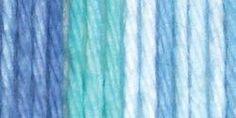 Lily® Sugar'n Cream® Cotton Stripes Yarn Country