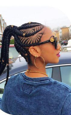 85 Box Braids Hairstyles for Black Women - Hairstyles Trends Box Braids Hairstyles For Black Women, Mens Braids Hairstyles, Black Girl Braids, Girls Braids, African Hairstyles, Feed In Braids Ponytail, Kid Braid Styles, Box Braids Styling, Long Black Hair