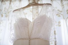 When you get right down to it, this is the kind of wildly beautiful yet deeply personalweddingwe preach here on SMP. From the gorgeous blush and gold stylings byKelly Lenardto the Bride's late mother's photograph sewn into her BHLDNdress, it's
