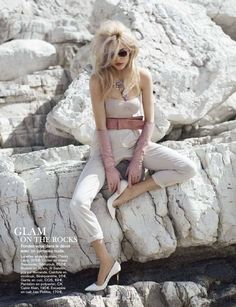 "Glamour France August 2012, ""Plein Soleil"""