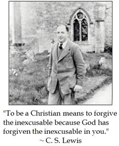 CS Lewis on Forgiveness #quotes