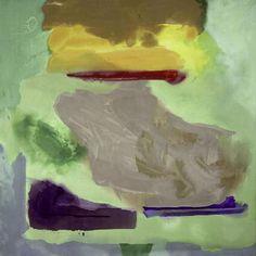 Helen Frankenthaler, Spring Bank, 1974,