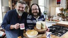 Hairy Bikers' Best of British Deep filled Homity pie Homity Pie, Hairy Bikers, Biscuits, Thing 1, Lemon Curd, Noodle Soup, The Fresh, Tray Bakes, Quiches