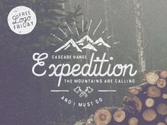 free-logo-badge-vintage-retro - the mountains with the word Fernie - adventure is calling