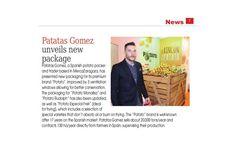 Las claves de Potato, en la revista internacional Eurofresh Distribution: una selección de las mejores variedades de patata y una bolsa diseñada para su óptima conservación.   Más en www.patatasgomez.com