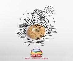 Vivi l'#estate con #fantasia e porta in #vacanza con te i tuoi #Ottimini #Divella preferiti.