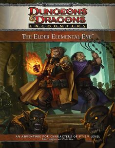 The Elder Elemental Eye (4e) Encounters | Book cover and interior art for Dungeons and Dragons 4.0 - Dungeons & Dragons, D&D, DND, 4th Edition, 4th Ed., 4.0, 4E, Roleplaying Game, Role Playing Game, RPG, Game System License, GSL, Wizards of the Coast, WotC | Create your own roleplaying game books w/ RPG Bard: www.rpgbard.com | Not Trusty Sword art: click artwork for source