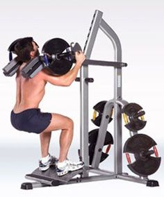 Free Weights: More Research is Needed - Bret Contreras Total Gym Workouts, Fit Board Workouts, At Home Workouts, Diy Gym Equipment, No Equipment Workout, Bodybuilder, Calf Machine, Squat Machine, Home Gym Machine