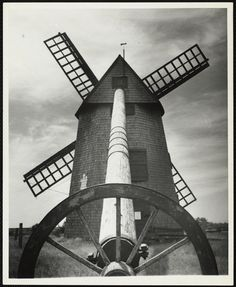 Commonwealth, Nantucket, Windmill, 1930s, Holland, Survival, Old Things, Auction