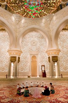 Arches of Sheikh Zayed Mosque | Islamic Arts and Architecture