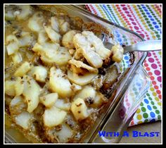 Brown Onion Potatoes