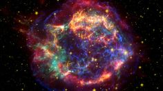 In giant nebulae stars are born.  When they die they produce some new fog