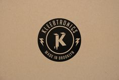 Kleebtronics by Madelyn Owens, via Behance