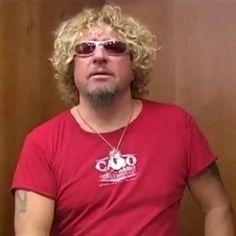 Red Rocker, Sammy Hagar, Van Halen, Rock And Roll, Singers, Entertainment, Actors, Music, Mens Tops