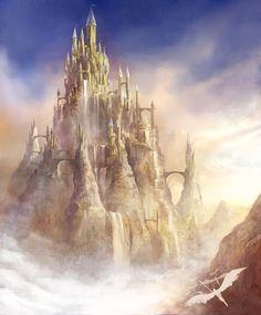 Mountain Peak Castle by jbrown67 on deviantART