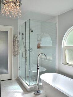 Modern bath #homeimprovement #decor