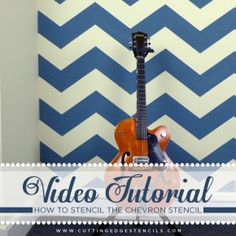 Video Tutorial: Tips & Tricks for Using the Chevron Stencil
