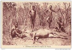 Afrique - République Centre Africaine - Oubangui - Chasse Chasseurs
