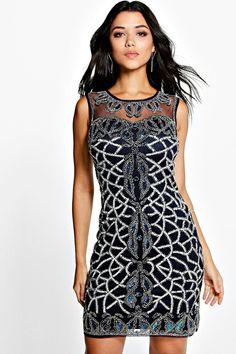 Boutique Rosie Embellished Bodycon Dress. Cocktailmekot acc780c34a