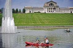 The 15 Best City Parks in America. Forest Park, in St. Louis, is #1!