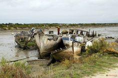 Noirmoutier, cimetière de bateaux