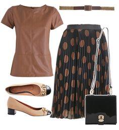 Complete Look - wide shoulder/narrow hips shape - work wardrobe - Manequim - Editora Abril