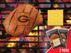FanMats NFL - Greenbay Packers Grilling Fanbrand 2 Pack