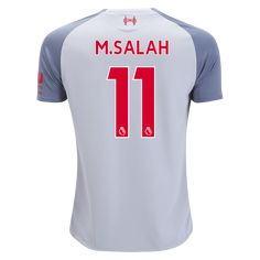 33e135b7ad3 New Balance Mohamed Salah Liverpool Youth Third Jersey 18 19