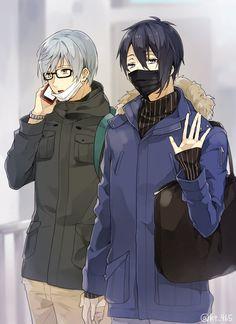Mutsunokami Yoshiyuki, Hot Anime Guys, Touken Ranbu, Manga Art, Sword, Kawaii, Artist, Spice, Twitter