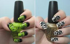 5 Steps by Steps of How to Make an Easy Halloween Nail Art