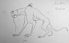 "Film: Titan AE =====  Alien Design #3 =====  Alien ""Doggie"""
