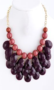 Cravin' Grapes Necklace $24