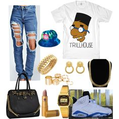 Trillhouse, created by imanifashions on Polyvore