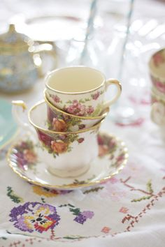 A little morning tea [party]