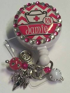 Check out this item in my Etsy shop https://www.etsy.com/listing/260388770/nifty-bling-badge-reel-nurses-rock-with