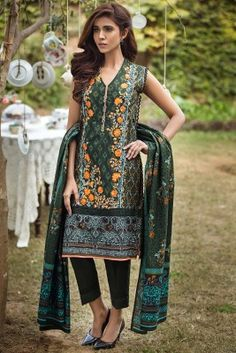 Buy Alkaram 3 Piece Embroidered Lawn Suit Green. Cash on delivery. Free shipping all over Pakistan.