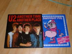 U2 - Another Time Another Place - UNOFFICIAL LUXEMBOURG LIVE LP - SWINGIN' PIG