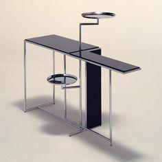 Eileen Gray, Rivoli table. Inspiration Accessories Interior Design Home decor architecture NYC  http://atelierarmbruster.com