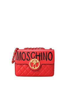 Quilted Foldover Crossbody Bag from Moschino €1599,00