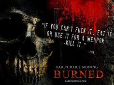 karen marie moning burned book - Google Search