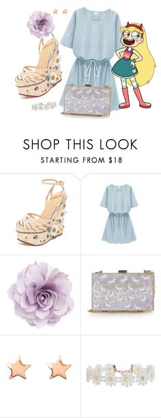 """""""Star Butterfly"""" by area2002 on Polyvore featuring Charlotte Olympia, Cara, Skinnydip, Latelita and Humble Chic"""